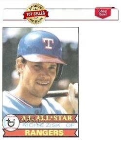 1979 Topps Richie Zisk Texas Rangers #260 Baseball Card