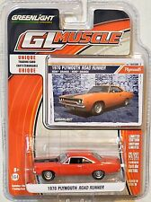 GREENLIGHT GLMUSCLE 1970 PLYMOUTH ROAD RUNNER SERIES 16 SCALE 1:64