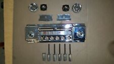 1956 Ford Thunderbird OEM Town and Country Radio FACEPLATE, KNOBS, BUTTONS 55 57
