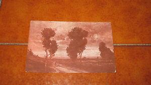 Carte Postale Art Cyprès Fp VG Dans 1917