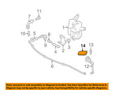 TOYOTA OEM Prius Washer-Headlight Head Light-Actuator Cover Left 8535447020A1