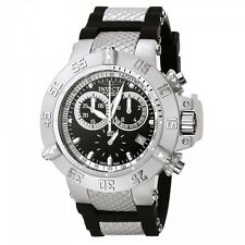 Invicta Men's Subaqua Chronograph Stainless Steel Black Polyurethane Watch 5511