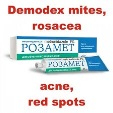Demodex mites, rosacea, acne, red spots, itching of the face, skin cleaning wow!