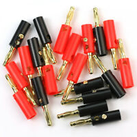 20x Binding Post Speaker Cable for Audio Amplifier Terminal Banana Plug Jack