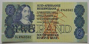 """SÜDAFRIKA: 2 Rand seit 1975 """"JAN VAN RIEBEECK"""", kassenfrisch/unc."""
