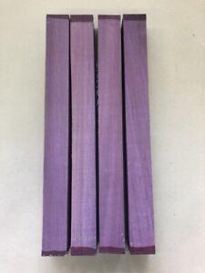 Purple Heart | Amaranth | Drechselholz | Tonholz | Tonewood | 500 x 50 x 50 mm