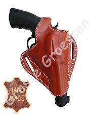 Revolverholster UNIVERSAL -Braun- f. gr. Revolver (S&W 686) - Leder - Handarbeit