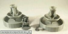 HC3D -Terra Terrain Fountain 60mm- Wargames Miniatures Scenery 40k 28m 15mm