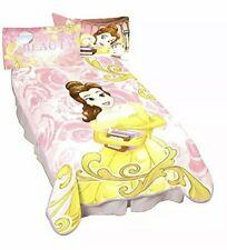 """Disney Blanket Belle Beauty & the Beast Plush Girl's Large 62"""" x 90"""". 2 Avlbl"""