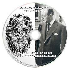 A Case For Dr Morelle (OTR) Old Time Radio (MP3 CD) 13 Complete Shows -Audiobook