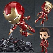 Marvel's The Avengers Iron Man Mark 43 PVC Figure Toy Gift Nendoroid #543