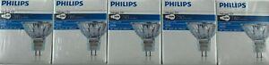 5x Philips Halogen Aluline reflecto 12V 50W 12 Volt 50 Watt 50mm 36º M258 EXN
