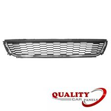 FRONT BUMPER GRILLE CENTRE LOWER WITH CHROME MOULDING TRIM VW POLO 2009-2014 NEW