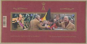 [PG1047] Belgium 2013 Albert II good sheet very fine MNH