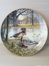 """""""The Wood Duck"""" plate by Bart Jerner, Knowles China Co. #3976I, from 1987 Mint!"""