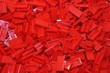 500 x lego ® tile/loseta/azulejos 1x2 (3069) en rojo/red nuevo