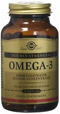 Solgar, Omega-3 Double Strength Softgels, 60