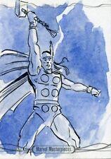 Marvel Masterpieces 2016 Sketch Card - LEE KOHSE - THOR