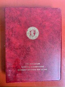 FAO 1968-1971 Coin Set  FAO Coin Album Set