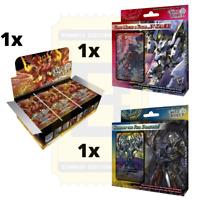 Gate Ruler TCG English Booster Box (36 packs) & Two Starter Decks Bundle SEALED