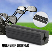 Heavy Duty Rubber Vise Golf Club Shaft Vice Clamp Re-grip Tool 3.5 inches lon EO