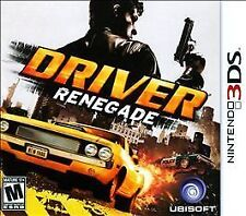 Driver: Renegade (Nintendo 3DS, 2011)NEW FAST FREE SHIPPING USA ONLY