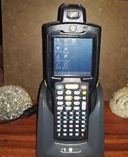 Motorola Symbol Windows Embedded Mc3100 1D Laser Handheld w/ Charging Station