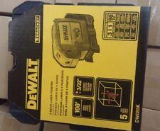 "100% NEW DEWALT US version  DW085K 5-Beam Laser Pointer accurate to 1/4"" at 100'"