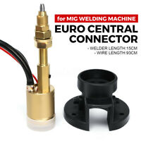 Panel Euro Socket Central Adaptor Conversion For CO2 MIG Welding Machine Torch
