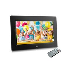 "Sonicgrace 10"" Digital Photo Frame with Remote Control, 16:9 LCD Screen"