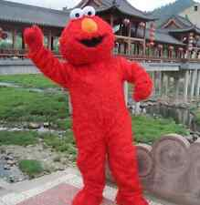 Promotion Sesame Street Elmo Monster mascot costume Cartoon Adult Fancy Dress