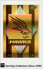 2000 Select AFL Millenium Card Series Holofoil Club Logo Card L8 Hawthorn