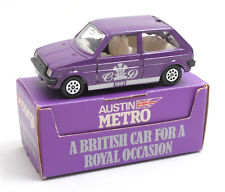 Corgi Toys 275 Austin Mini Metro Royal Wedding Special Edition 1981 * MIB *