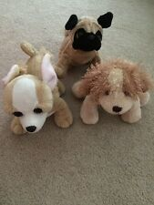 Webkinz! Lot of 3 DOGS - Chihuahua, Pug, Cocker Spaniel Gently Used No Code