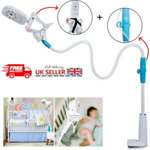 Baby Monitor 360° Stand Safe Video Camera Mount Holder Cot Crib Gift Universal