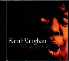 Sarah Vaughan – Absolutely Live... CD