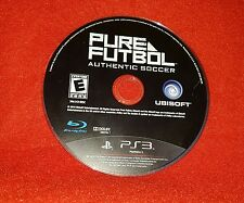 Pure Futbol Authentic Soccer (Sony PlayStation 3 PS3, 2010)