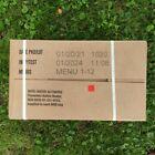 US MRE Karton A, Insp.Date 01/24, EPA Verpflegung, Army Notration, Ready to eat