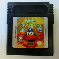 Elmo's ABCs NewKidCo Educational Game For Game Boy Color Great Price!