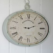 French Grey Wall Clock Was £49.99