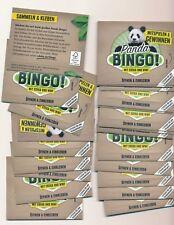 25 Tüten EDEKA WWF Panda Bingo