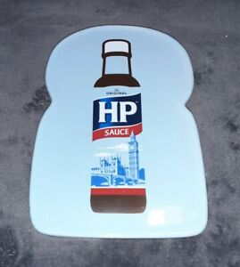2012 HP Brown Sauce Ceramic Bread Slice Shaped Plate - Official Merchandise