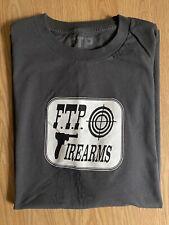 FTP Supreme Firearms Tee Shirt XXL 2XL Gray Box Motion Logo