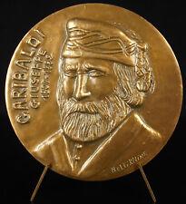 Médaille Giuseppe Garibaldi aventurier la liberté patriote italien Risorgimento