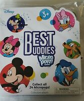 Disney, Best Buddies Micro Popz Collectors Display Album  New Sealed