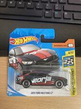 Hot Wheels Ford Mustang GT Borla Super treasure Hunt Short Card
