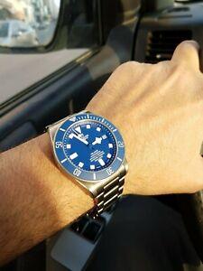 Tudor Pelagos 25600TB Blue W-95820T Titanium Men's Watch 2019 Model Full Set