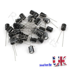 10Pcs radial conduce Aluminio condensadores electrolíticos 6x7mm 10V 470uF
