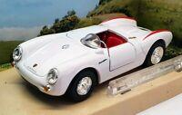 Cararama 1/43 Scale Model Car 002514 - Porsche 550A Spyder - White