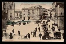 MONREALE piazza e via principale